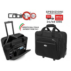 CABIN GO Borsa Trolley 5592 per notebook laptop da Viaggio Trolley Pilota